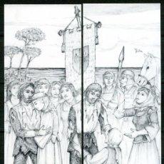 Coleccionismo Marcapáginas: MARCAPÁGINAS PUZZLER BAGA – SANT JORDI 2009. Lote 91853659