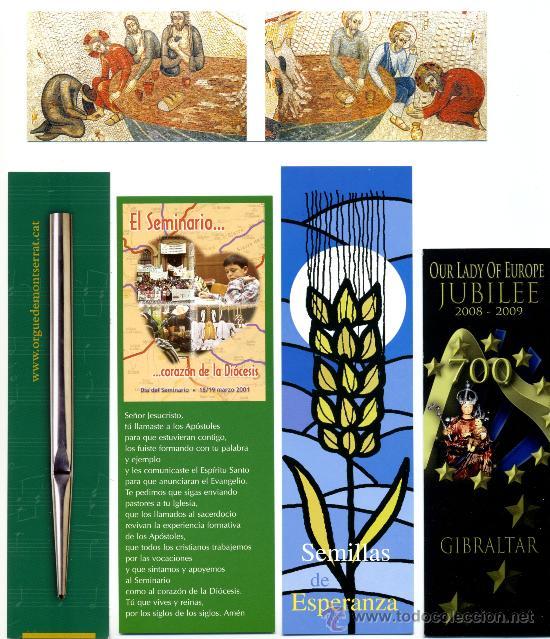 Coleccionismo Marcapáginas: 10 - Marcapáginas – RELIGIÓN - Foto 2 - 49048155