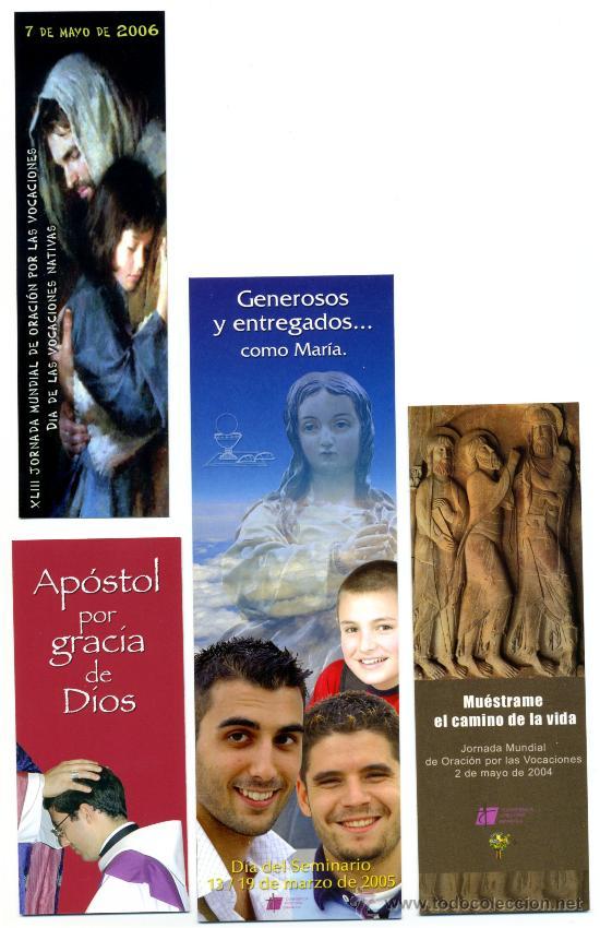 Coleccionismo Marcapáginas: 10 - Marcapáginas – RELIGIÓN - Foto 3 - 49048155