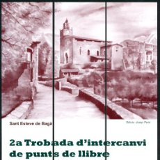 Coleccionismo Marcapáginas: MARCAPÁGINAS PUZZLER – BAGA 2009 SANT ESTEVE. Lote 45897155