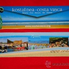 Coleccionismo Marcapáginas: KOSTALDEA, COSTA VASCA.. Lote 216829392