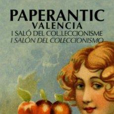 Coleccionismo Marcapáginas: MARCAPÁGINAS – PAPERANTIC VALENCIA 2008. Lote 170028066