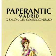 Coleccionismo Marcapáginas: MARCAPÁGINAS – PAPERANTIC MADRID: MAYO 2009 . Lote 105303130