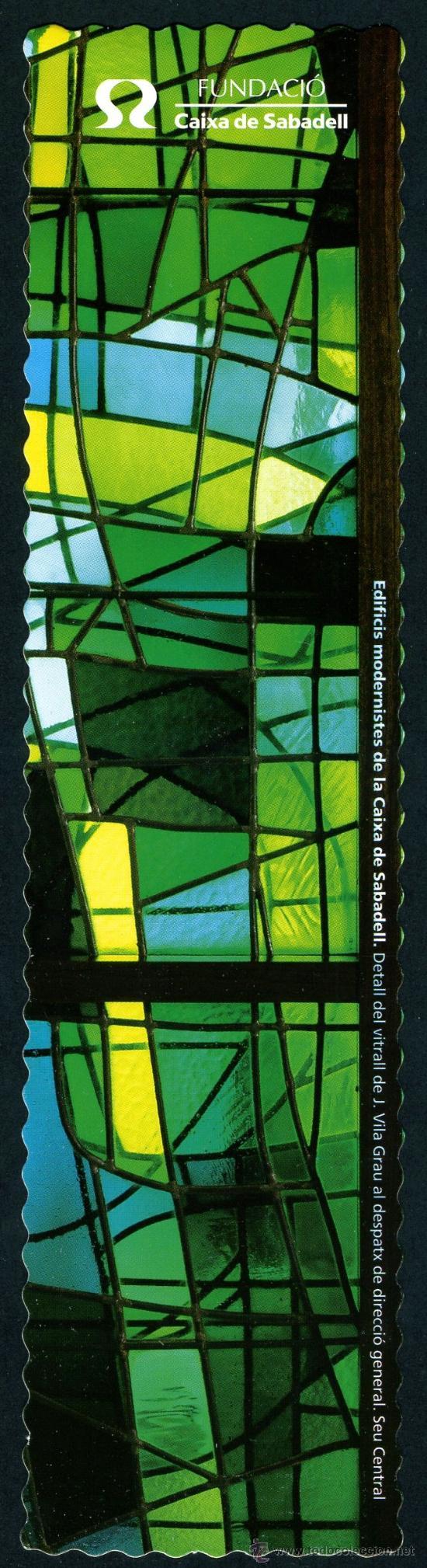 MARCAPÁGINAS – CAIXA SABADELL 2001 (Coleccionismo - Marcapáginas)