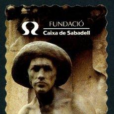 Coleccionismo Marcapáginas: MARCAPÁGINAS – CAIXA SABADELL 2000. Lote 49047963