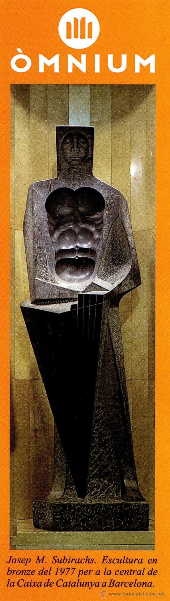 MARCAPÁGINAS ÒMNIUN SABADELL – SANT JORDI 2012 (Coleccionismo - Marcapáginas)