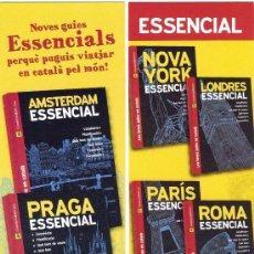 Coleccionismo Marcapáginas: MARCAPÁGINAS EDITORIAL COSSETÀNIA. Lote 245312870
