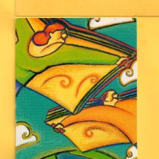 Coleccionismo Marcapáginas: MARCAPÁGINAS DE EDICION MINISTERIO DE CULTURA DIA MUNDIAL DEL LIBRO Y DEL AUTOR . Lote 32066468