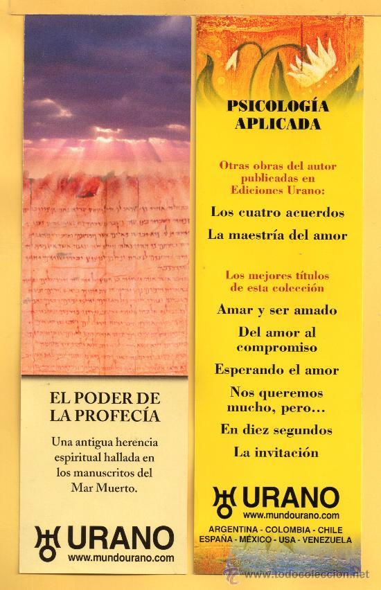 DOS MARCAPÁGINAS DE EDITADO POR URANI (Coleccionismo - Marcapáginas)