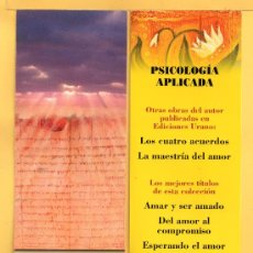 Coleccionismo Marcapáginas: DOS MARCAPÁGINAS DE EDITADO POR URANI . Lote 32069943
