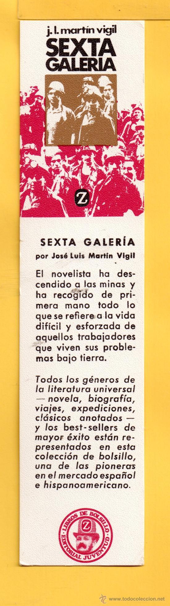 MARCAPÁGINAS DE EDICION JUVENTUD LIBROS DE BOLSILLO Z (Coleccionismo - Marcapáginas)