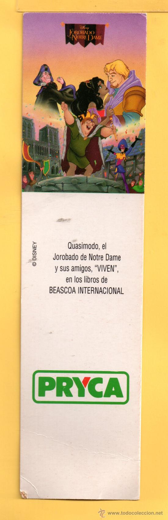 MARCAPÁGINAS DE EDICION SUPER MERCADOS PRYCA (Coleccionismo - Marcapáginas)