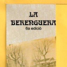 Coleccionismo Marcapáginas: NOVEDADES DE MARCAPÁGINAS DE EDITORIAL LA BERENGUERA DE MOLLET DEL VALLÉS . Lote 32920741