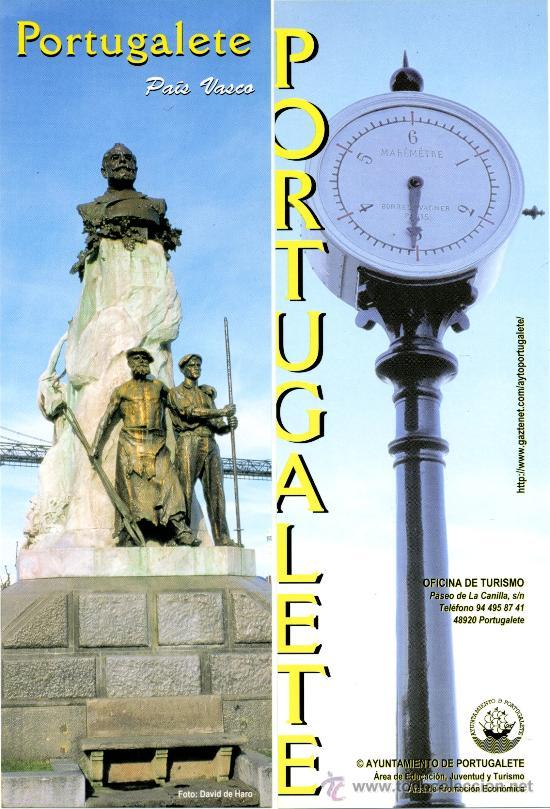 MARCAPÁGINAS PAIS VASCO - PORTUGALETE (Coleccionismo - Marcapáginas)