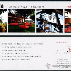 Coleccionismo Marcapáginas: MARCAPÁGINAS - FINCA RURAL. Lote 33420914