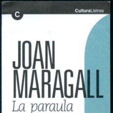Coleccionismo Marcapáginas: 2 MARCAPÁGINAS - JOAN MARAGALL. Lote 33969323