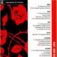 Coleccionismo Marcapáginas: MARCAPÁGINAS AJUNTAMENT DE TERRASSA. Lote 34251131