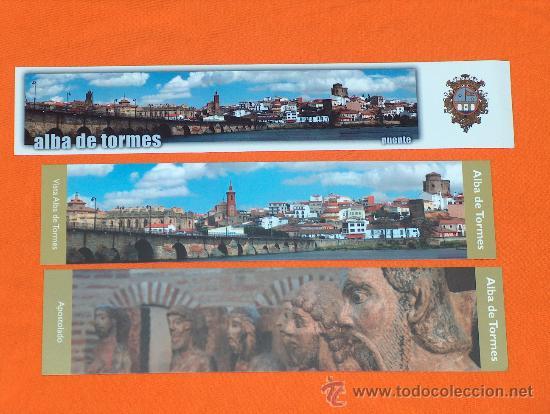 ALBA DE TORMES, SALAMANCA. (Coleccionismo - Marcapáginas)