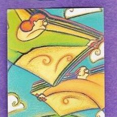 marcapaginas / punto libro - 23 d'abril - dia mundial del llibre i dret autor - sant jordi - años 90