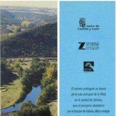 Coleccionismo Marcapáginas: MARCAPÁGINAS – RUTAS JACOBEAS ZAMORA. Lote 51112102