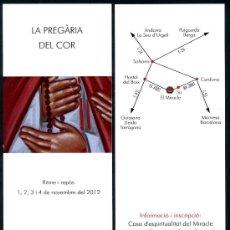 Coleccionismo Marcapáginas: MARCAPÁGINAS SANTUARI DEL MIRACLE. Lote 35777592