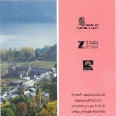 Coleccionismo Marcapáginas: MARCAPÁGINAS – RUTAS JACOBEAS ZAMORA. Lote 51112101