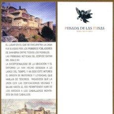 Coleccionismo Marcapáginas: MARCAPÁGINAS - PEISADA DE LAS MISAS / ZAMORA. Lote 39029992