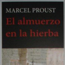 Coleccionismo Marcapáginas: MARCAPÁGINAS EDITORIAL:HERMIDA.EL ALMUERZO EN LA HIERBA.. Lote 98802247