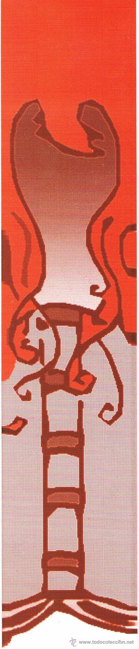 ORIGINAL MARCAPÁGINAS LIBRERÍA MAESTRO GOZALBO VALENCIA (Coleccionismo - Marcapáginas)