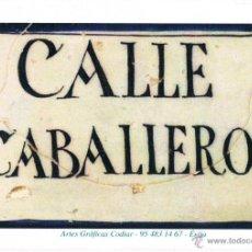Coleccionismo Marcapáginas: RARO MARCAPÁGINAS AZULEJO CALLE ECIJANA. Lote 39972191