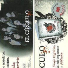 Coleccionismo Marcapáginas: MARCAPÁGINAS EDITORIAL MAEVA - EL CIRCULO. Lote 245313020