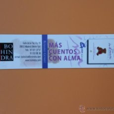Collezionismo Segnalibri: MARCAPÁGINAS BOHINDRA - DIVERSOS AUTORES. Lote 41279169