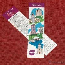 Coleccionismo Marcapáginas: PALENCIA. Lote 41596096