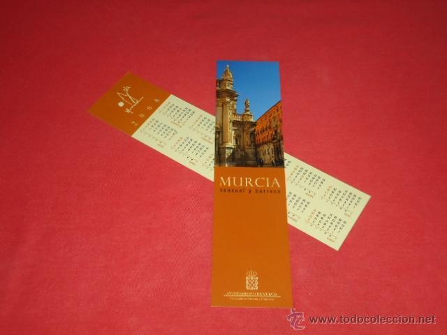 MURCIA, SENSUAL Y BARROCA, 2008 (Coleccionismo - Marcapáginas)