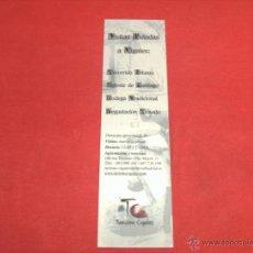 Coleccionismo Marcapáginas: CIGALES, VALLADOLID. Lote 41596457