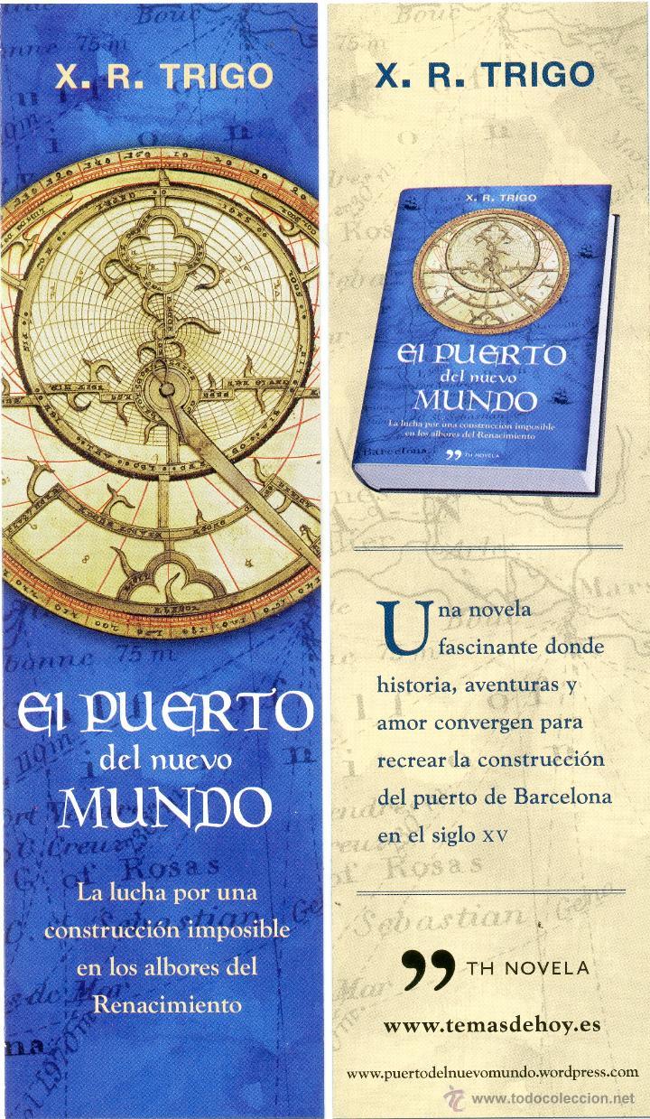 MARCAPÁGINAS EDITORIAL TEMAS DE HOY (Coleccionismo - Marcapáginas)