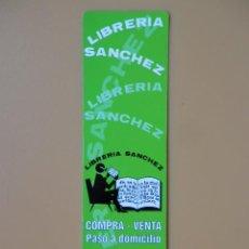 Collezionismo Segnalibri: MARCAPÁGINAS LIBRERÍA SÁNCHEZ - DIVERSOS AUTORES. Lote 42197784