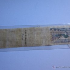 Coleccionismo Marcapáginas: MARCAPAGINAS EN PAPIRO- PONTE UMBERTINO-SIRACUSA. Lote 42545154