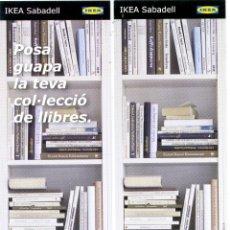 Coleccionismo Marcapáginas: MARCAPÁGINAS - IKEA. Lote 91832163