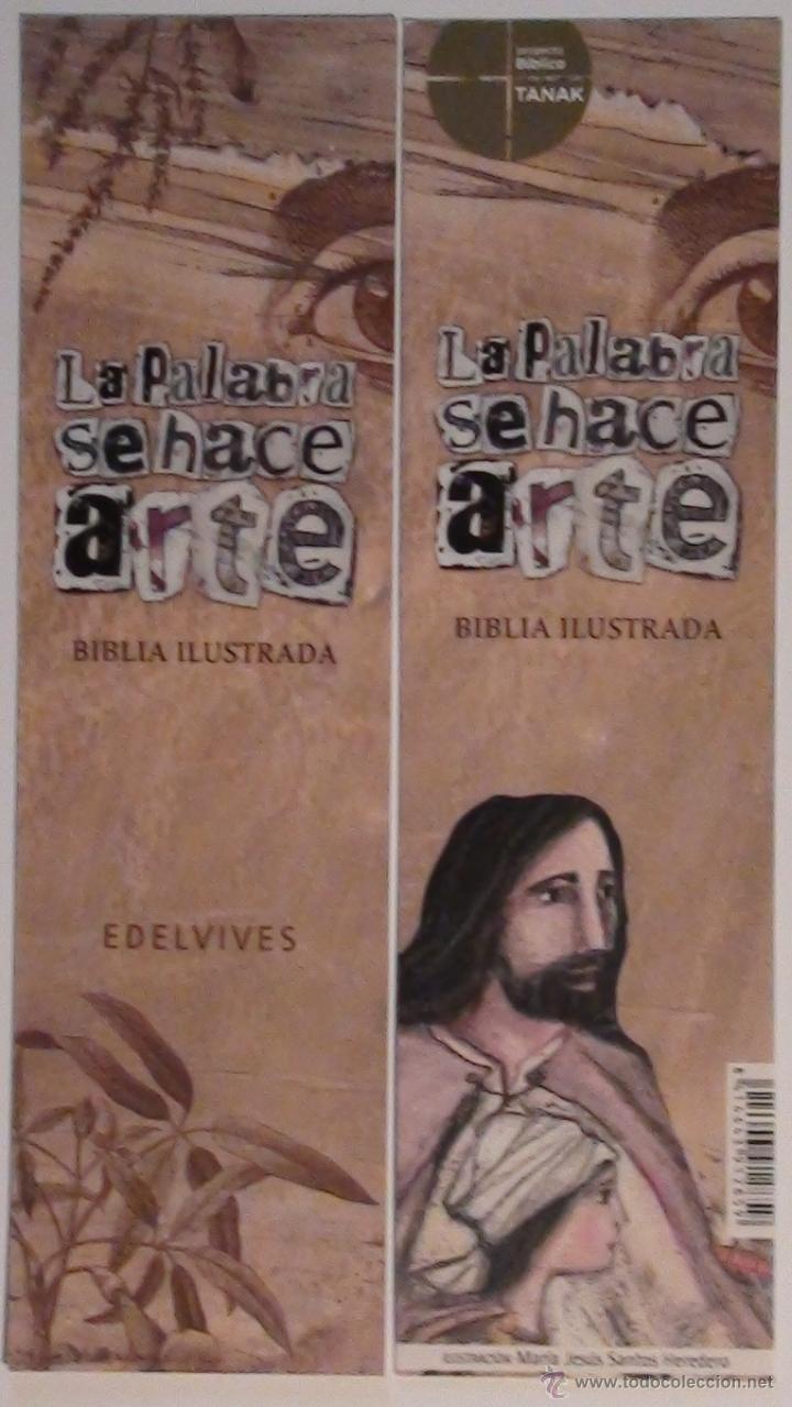 MARCAPÁGINAS EDITORIAL EDELVIVES.LA PALABRA SE HACE ARTE. (Coleccionismo - Marcapáginas)