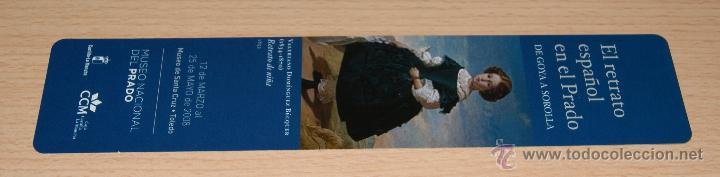 Coleccionismo Marcapáginas: Marcapáginas El retrato Español en el Prado - 2008 - Foto 2 - 42868026