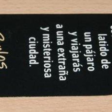 Coleccionismo Marcapáginas: MARCAPÁGINAS PLAZA JANÉS. Lote 42868081
