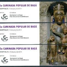 Coleccionismo Marcapáginas: MARCAPÁGINAS PUZZLER BAGA - UEC 2014. Lote 58226465