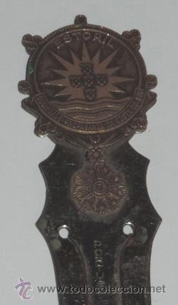 Coleccionismo Marcapáginas: MARCAPAGINAS METALICO DE LA SOCIEDAD DE PROPAGANDA DA COSTA DO SOL, ESTORIL, MIDE11,6 CMS - Foto 2 - 47890524