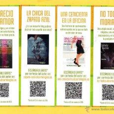 Coleccionismo Marcapáginas: CUATRO MARCAPÁGINAS EDICIÓN EL CORTE INGLÉS . Lote 48874629