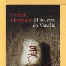 Marcapáginas de Ediciones Destino Titulo El Secreto de Vesalio