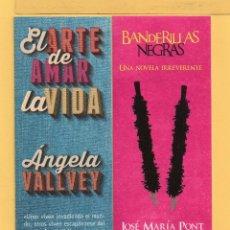 Coleccionismo Marcapáginas: CUATRO MARCAPÁGINAS DE EDICIONES KAILAS PUBLICIDAD VER FOTO ADICIONAL . Lote 50162597