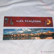 Coleccionismo Marcapáginas: ALBA DE TORMES, RUTA TERESIANA. Lote 51112376