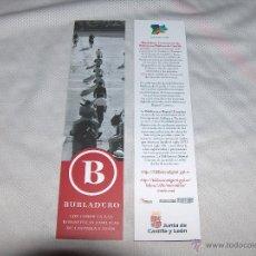 Coleccionismo Marcapáginas: BURLADERO. Lote 51112706