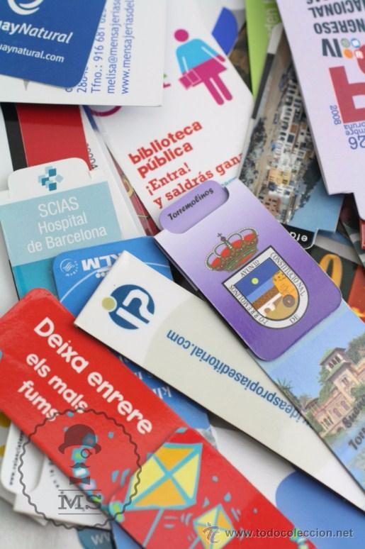 Coleccionismo Marcapáginas: Conjunto de 100 Marcapáginas / Puntos de Libro Imantados / Imanes - Publicidad,Catalunya, Sant Jordi - Foto 3 - 51435006